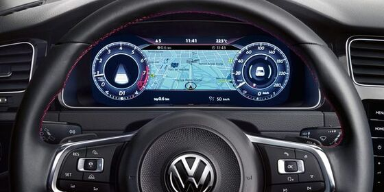VW Golf GTI Cockpit Active Info Display