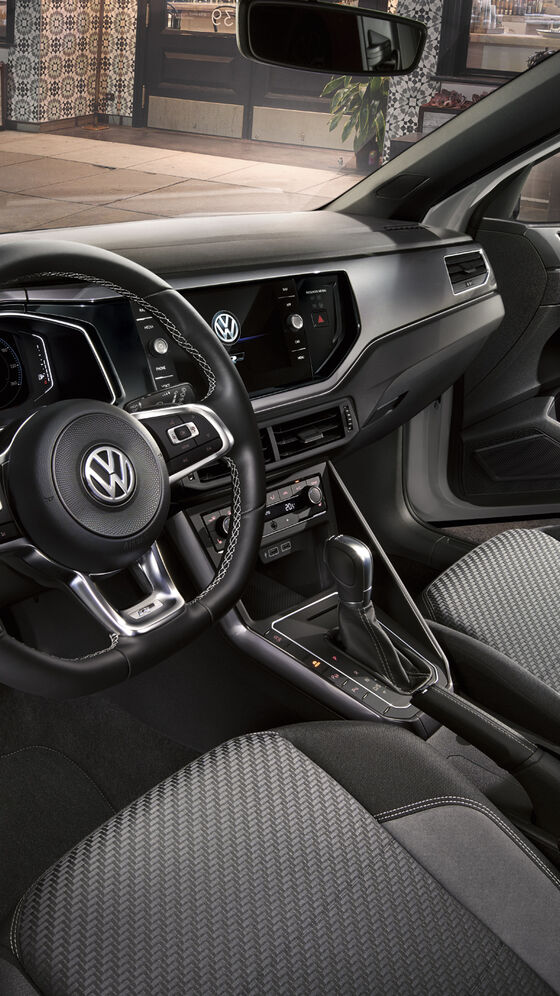 VW Polo R-Line Cockpit und Interieur