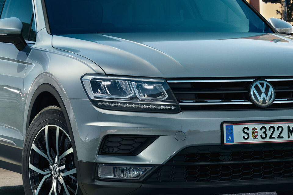 vw tiguan sky led