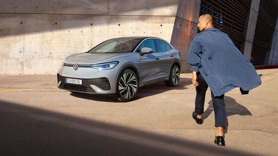 Volkswagen ID.3 in der rontansicht